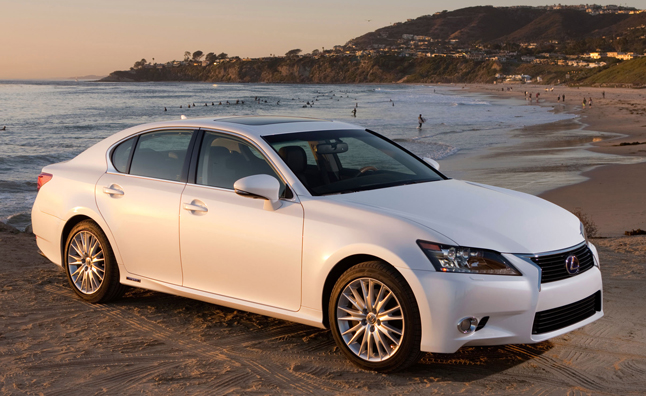 2015 lexus gs 450h adds f sport package news. Black Bedroom Furniture Sets. Home Design Ideas