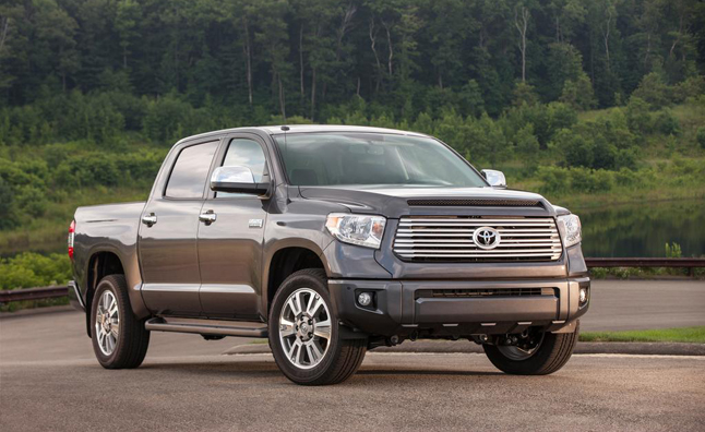2015 Toyota Tundra Goes V8 Only