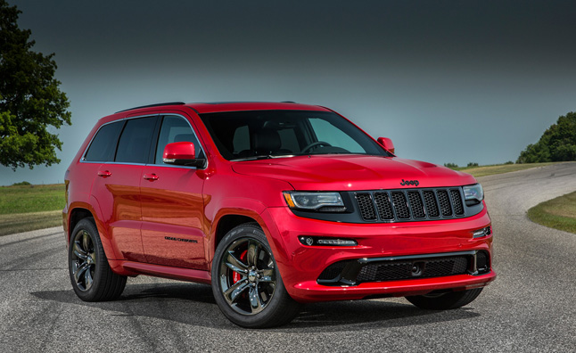 2015 Jeep Grand Cherokee Srt Gets Performance Boost » Autoguide