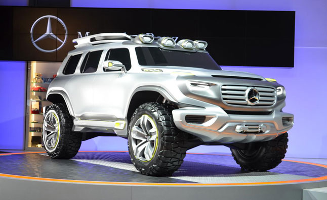 Mercedes Benz Ener G Force Concept Suv