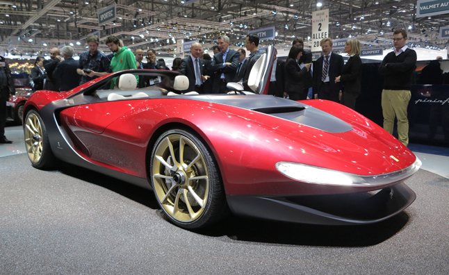 Pininfarina Sergio Concept Confirmed for Production » AutoGuide.com News