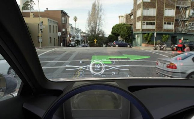toyota developing 3d head up display news. Black Bedroom Furniture Sets. Home Design Ideas