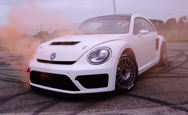 VW Beetle GRC Jumps, Drifts, Does Donuts in Video » AutoGuide.com News