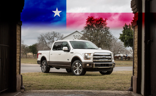 2015 ford f-150 earns 'truck of texas' award » autoguide news