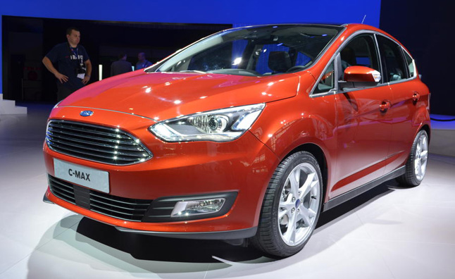 2015 ford c max debuts new looks in paris news. Black Bedroom Furniture Sets. Home Design Ideas