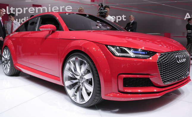 audi tt sportback is a 400 hp 4 door news. Black Bedroom Furniture Sets. Home Design Ideas