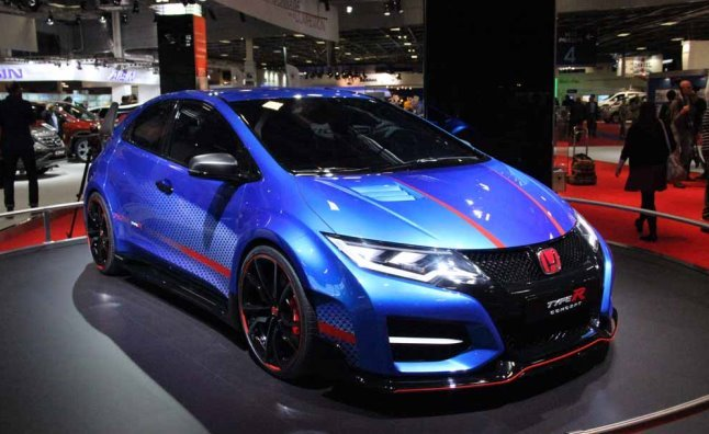 civic type r 39 concept 39 will boost your faith in honda. Black Bedroom Furniture Sets. Home Design Ideas