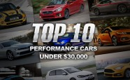 Top 10 Performance Cars Under $30,000