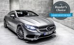 Mercedes S-Class Coupe Wins 2015 AutoGuide.com Reader's Choice Luxury Car of the Year Award