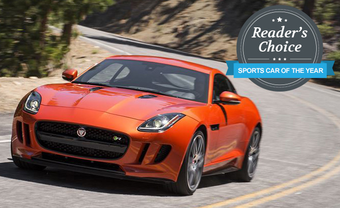 Jaguar F Type Coupe Wins 2015 AutoGuide.com Readeru0027s Choice Sports Car Of  The