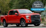 Ford F-150 Wins 2015 AutoGuide.com Reader's Choice Truck of the Year Award