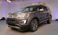 2016 Ford Explorer Adds New 2.3L EcoBoost Engine, Platinum Trim