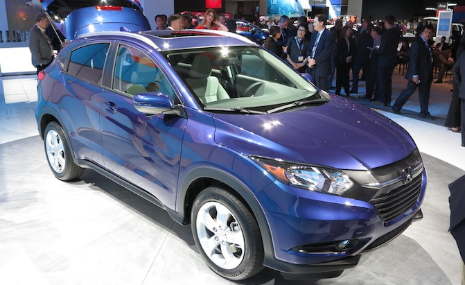 Awesome 2016 Honda HRV Video First Look  AutoGuidecom News