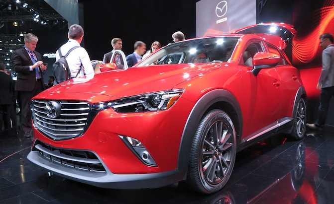 2016 mazda cx-3 puts a premium spin on small cuvs - mazda mx-6 forum