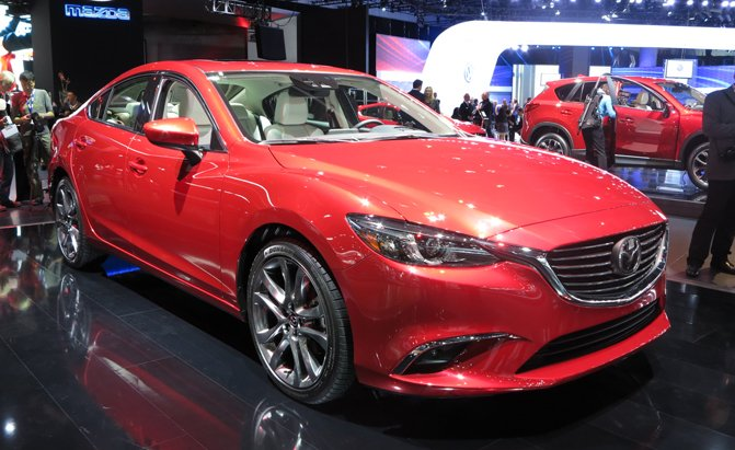 2016 Mazda6 Gains Fresh Features And Design