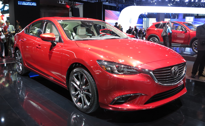 The Mazda6 Is A Leader In The Sedan Segment But The Company Is Not About To  Let This Mainstay Model Go Stale. Theyu0027ve Given It A Nice Refresh For The  2016 ...