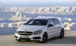 Mercedes Eyes Hardcore A45 AMG