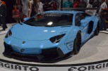 Liberty Walk Looses Fire Breathing Aventador on SEMA