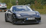 Porsche Cayman GT4 Spotted Testing Again