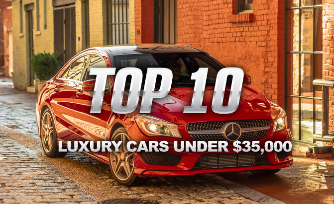 2014 Top 10 Luxury Sedans: Top 10 Luxury Cars Under $35,000