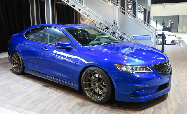 Acura Adds Subtle Style With Tlx Sema Concept 187 Autoguide