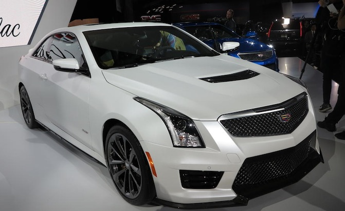2016 Cadillac Ats V Video First Look 187 Autoguide Com News