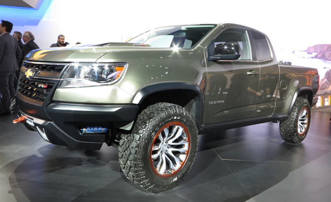 "Chevy Colorado ZR2 Revealed With Diesel Power, ""Ultimate"" Off-Road"