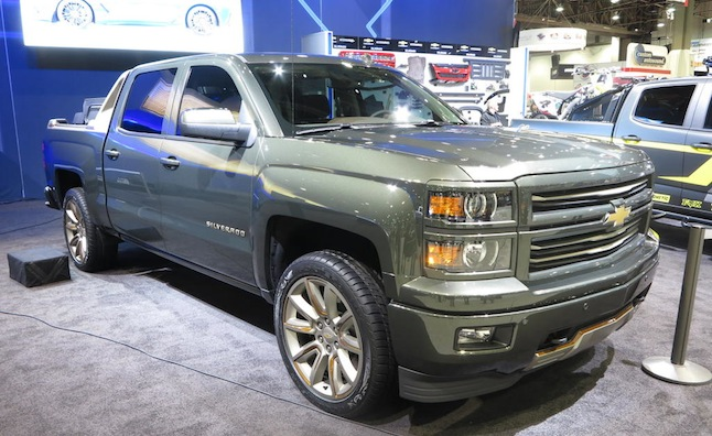 Chevy Truck, SUV Concepts Ready to Work, Play at SEMA ...