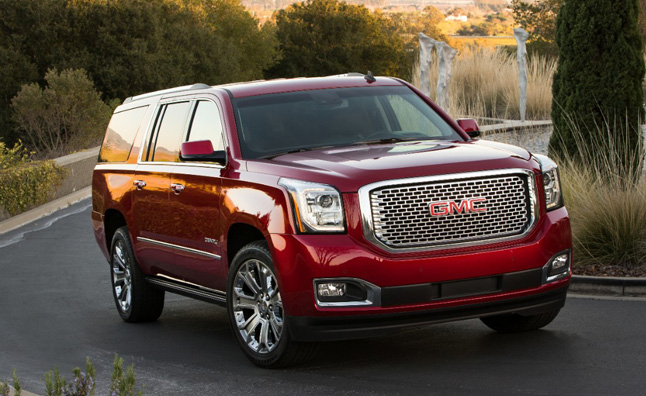 2015 gmc yukon denali gets two more gears more mpgs. Black Bedroom Furniture Sets. Home Design Ideas