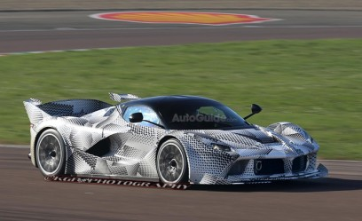 LaFerrari XX Prototype Spied with Radical Styling