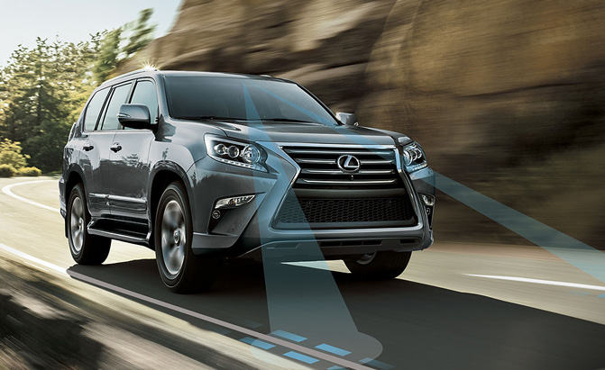 Lexus Introducing New Safety Package in 2015