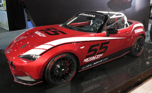 With The Success Of The MX 5 Cup Series, It Was Only A Matter Of Time Until  Mazda Unveiled A New Cup Car Based On The Fourth Generation MX 5.