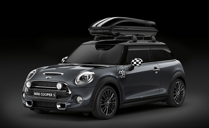 jcw tuning announces new mini cooper accessories news. Black Bedroom Furniture Sets. Home Design Ideas
