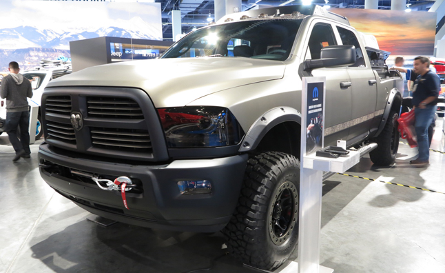 Ram 2500 Outdoorsman Concept Is Wilderness Ready Autoguide Com News
