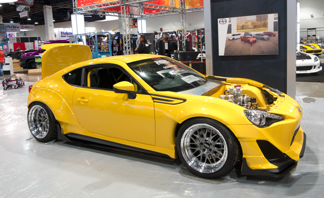 Scion Tuner Challenge Fr S  petitors Unveiled Sema on mustang with viper engine