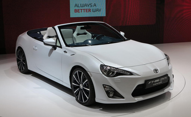 Scion FR-S Convertible, Turbo Officially Dead » AutoGuide ...