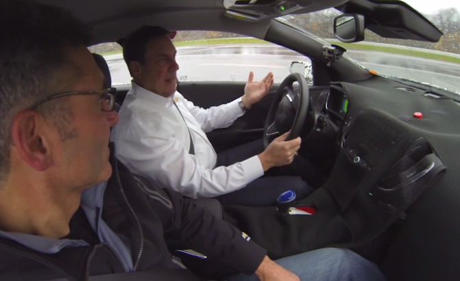 2016 Chevy Volt Interior Teased In Video