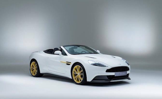 Aston Martin Recycles Old Parts For New Cars