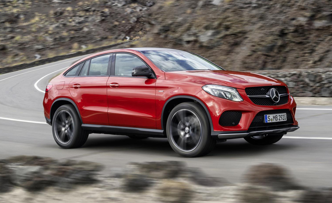 Mercedes Gle 450 Amg Coup 233 Debuts Amg Sport Line