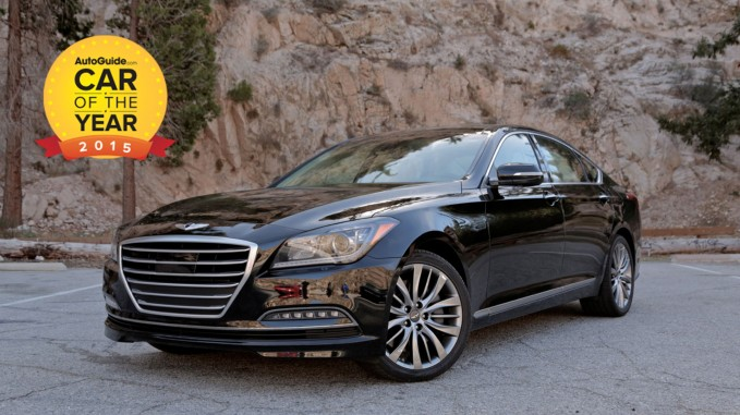 Hyundai Genesis Named 2017 Autoguide Car Of The Year