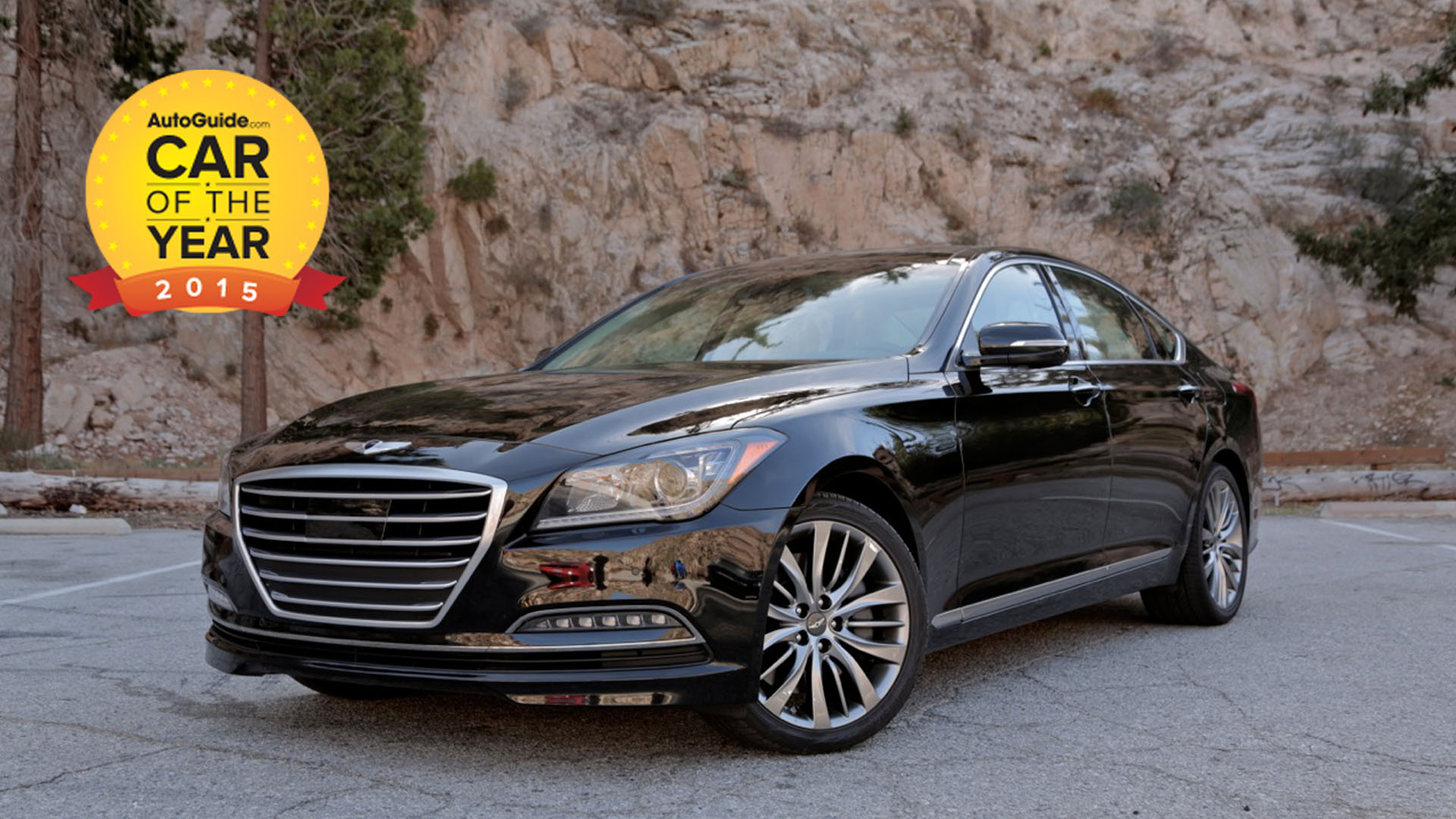 hyundai genesis named 2015 car of the year news. Black Bedroom Furniture Sets. Home Design Ideas