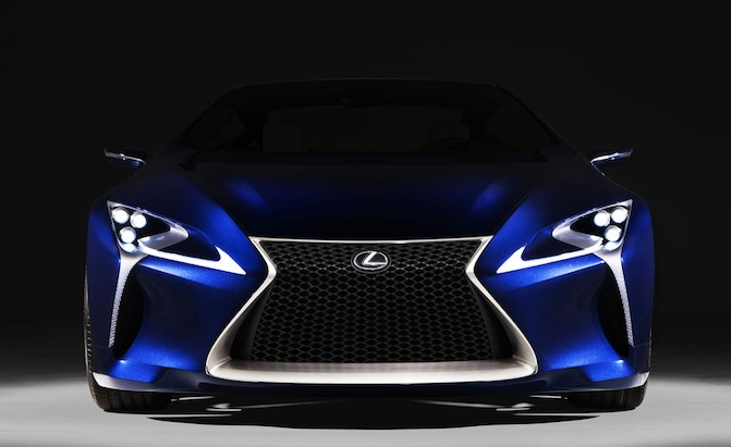 Lexus Files Trademarks for LC 500, LC 500h » AutoGuide.com News