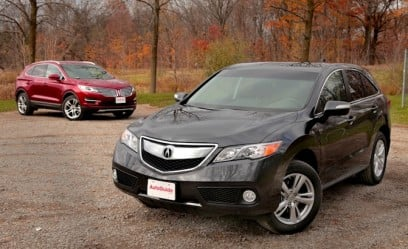2015 Acura RDX vs 2015 Lincoln MKC