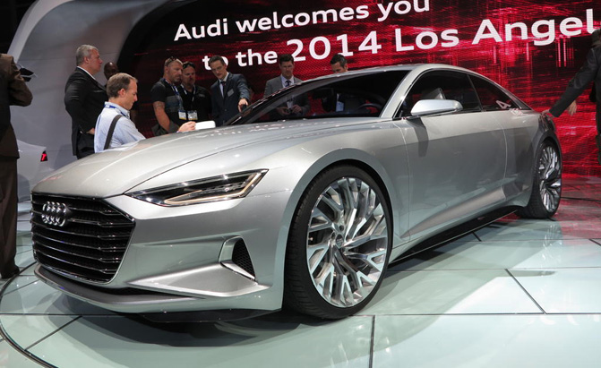 2017 Audi A6 To Use Prologue Concept Styling