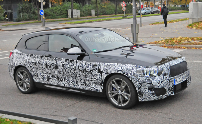 Awesome BMW 1 Series M Sport Spied Testing  AutoGuidecom News
