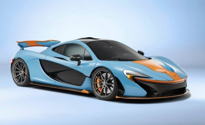 McLaren P1 Looks Exquisite in Gulf Oil Livery