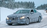 Mercedes-Benz E-Class Plug-In Spied Winter Testing