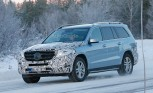 Mercedes GLS Spied Testing with Makeover