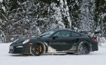 Porsche 911 GT3 RS Spied Playing in the Snow