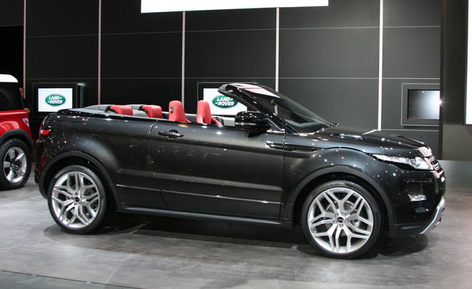 range rover evoque convertible rumored for 2015 debut news. Black Bedroom Furniture Sets. Home Design Ideas